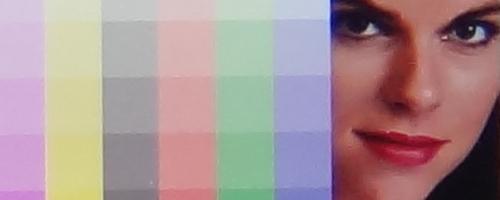 各感光度细节表现测试