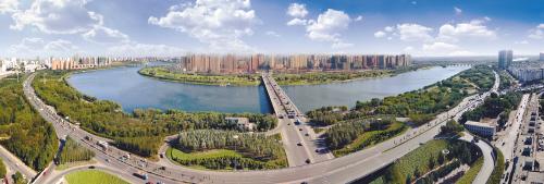 """随着城市建设的进一步发展,和平区的长白,北市,西塔也将有大的""""变脸""""."""