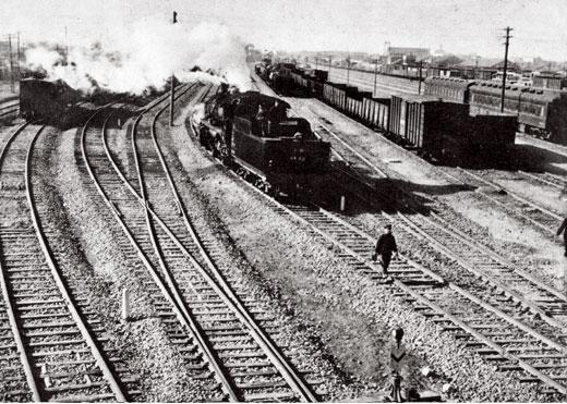 1959-年的安徽蚌埠市火车站。