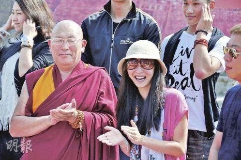 活佛预言张柏芝将是中国最成功的女艺人