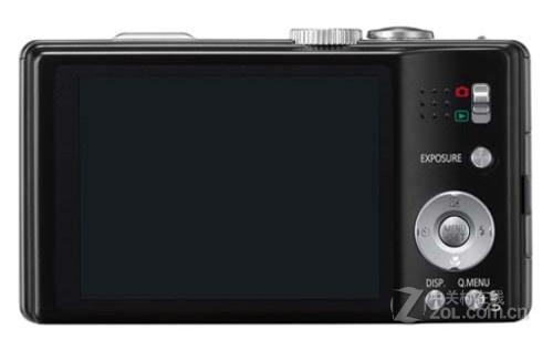 图为:松下数码相机ZS10