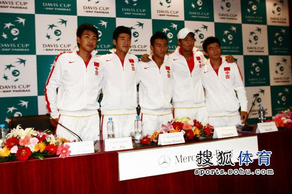 戴维斯杯中国队