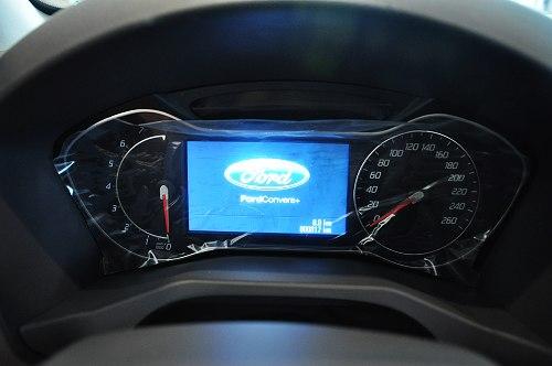boost gtdi新动力技术,但是这看上去和商务轿车没有区别的仪表盘,我图片