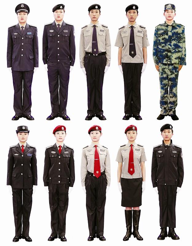 全国保安队伍将换新装 组图 搜狐滚动