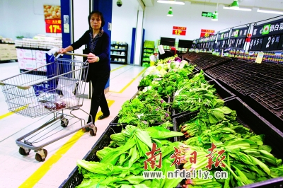 3%;苦麦菜1.95元,环比上涨21.9%;西兰花6.35元,环比上涨22.1%;芹菜4.