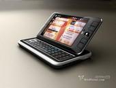 """""""全息""""概念换壳:Nokia N800新概念设计亮相"""
