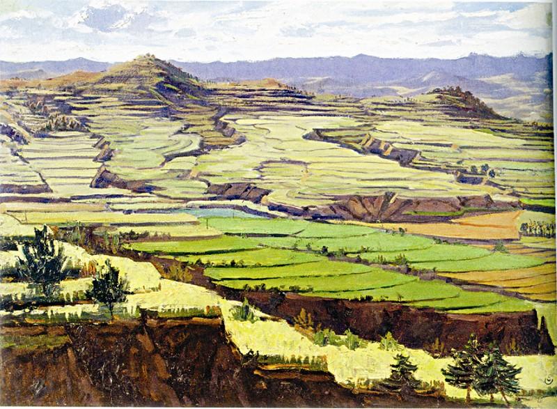 中国油画家作品图片大全 中国当代油画家朱双大