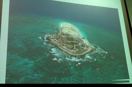 南海被占岛礁(组图)