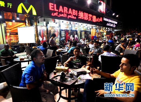 """义乌 Night Market: 义乌外商丰富多彩的""""夜生活""""(组图)-搜狐滚动"""