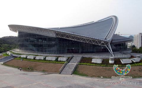 2011深圳大运会场馆:深圳排球体育馆