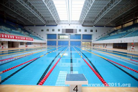 2011深圳大运会场馆:宝安区游泳水球馆