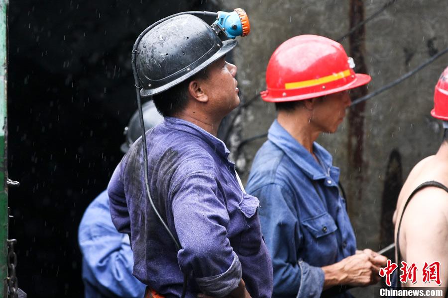 7月8日,广西来宾合山市矿难现