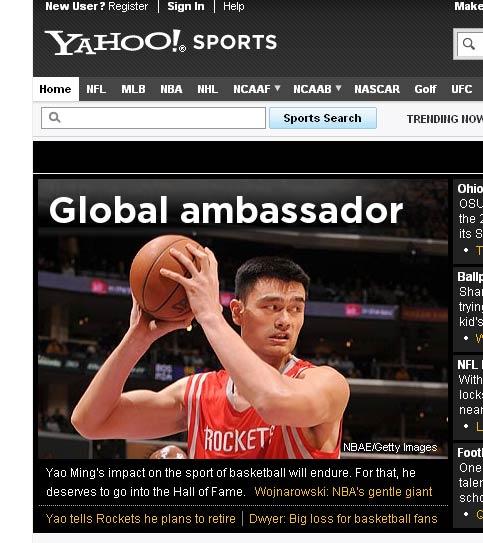 Yahoo体育