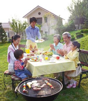 户外烧烤:冰城新野餐时代(图)