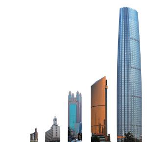 天津第一高度不断刷新 津塔成天际线上一颗明珠(组图)