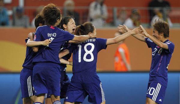 2011女足世界杯日本_女足世界杯-日本加时赛1-0德国 20年首度进四强-搜狐体育