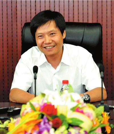 金山软件董事长雷军 本报记者胡雪柏摄