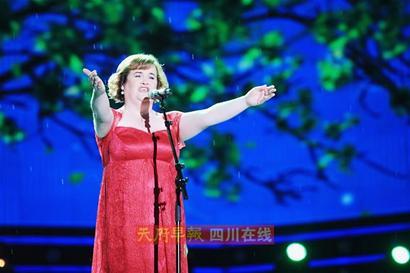 苏珊大妈献唱《中国达人秀》