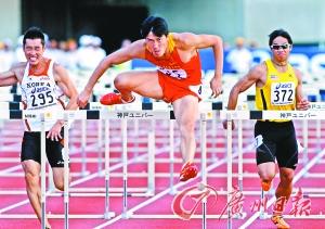 在亚洲,刘翔毫无疑问仍是男子110米栏第一人。(CFP供图)