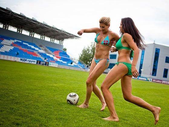 097美女穿比基尼助阵女足世界杯