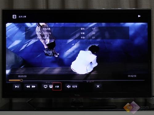 《泡沫之夏》影片的分辨率为720×576