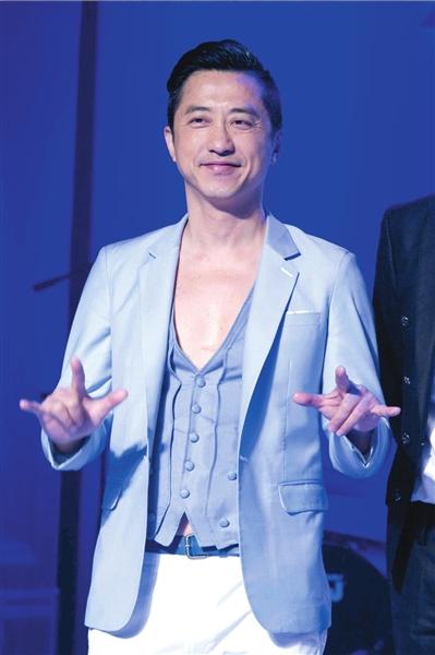 庾澄庆出席发布会助阵音乐节。本报记者吴平摄
