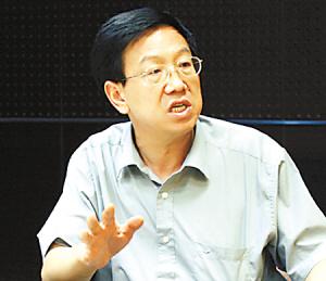 中央党校研究室副主任周天勇(资料图)