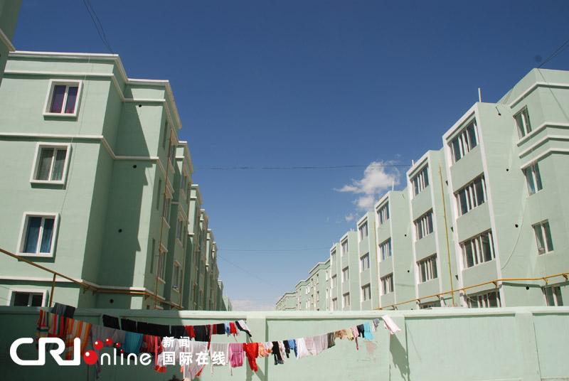 柯尔克孜族牧民的新房