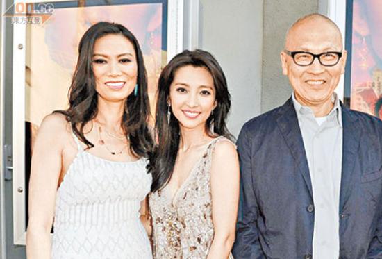左起:邓文迪、李冰冰、王颖