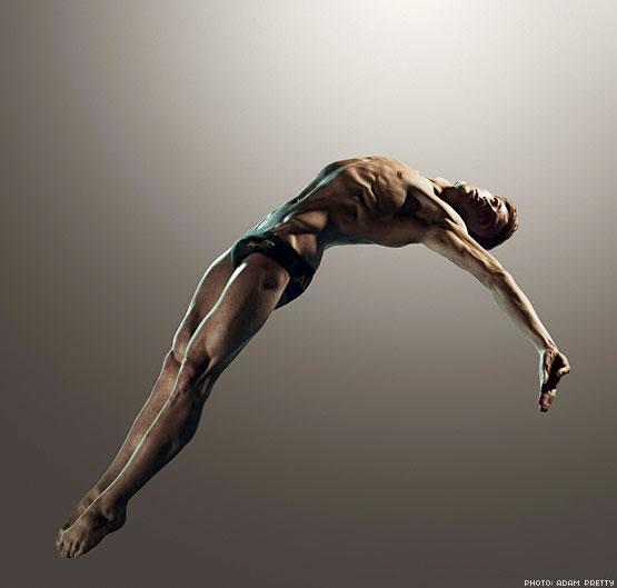 组图:阳光帅男马修写真 完美诠释跳水运动魅力