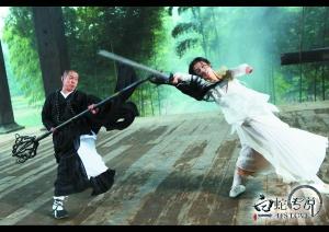 白蛇传说李连杰圣依剧