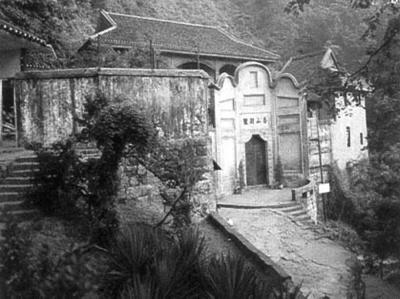 重庆歌乐山烈士陵园外景