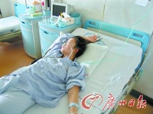 姐姐病情明显好转已转入普通病房。