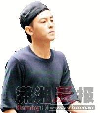 """陈冠希现身中环,结果""""落荒而逃""""。"""
