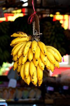 黄色香蕉(普通模式);黄色香蕉(局部彩色-黄)