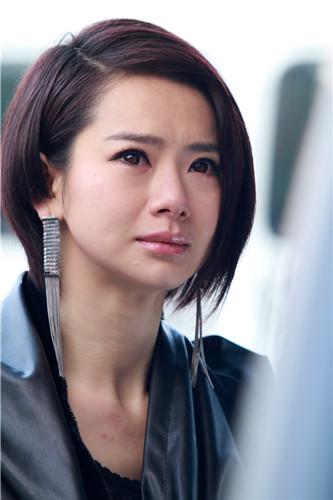 戚薇在《高手如林》中哭戏