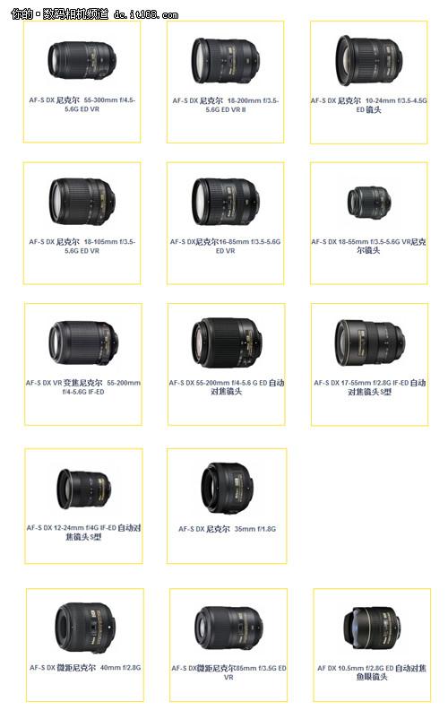 D7000/D5100的绝配 尼康经典DX镜头推荐