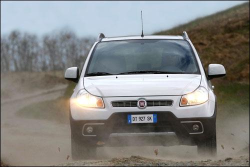 铃木天语SX4的孪生兄弟Fiat-Sedici