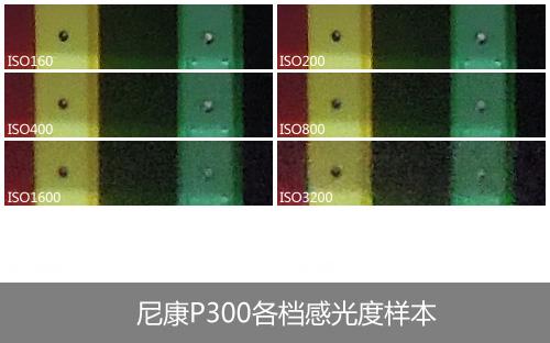 尼康P300感光度测试样本