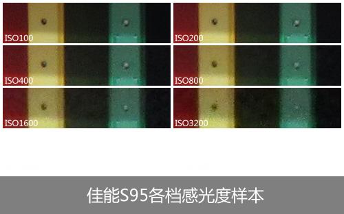 佳能S95感光度测试样本