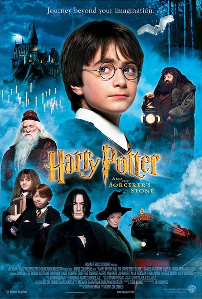 系列第一部 哈利波特与魔法石 海报