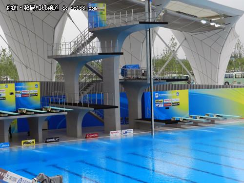 室外跳水比赛场地