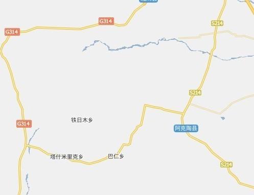 喀什市道路地图