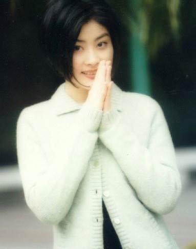 陈慧琳刚出道时的清纯模样图片