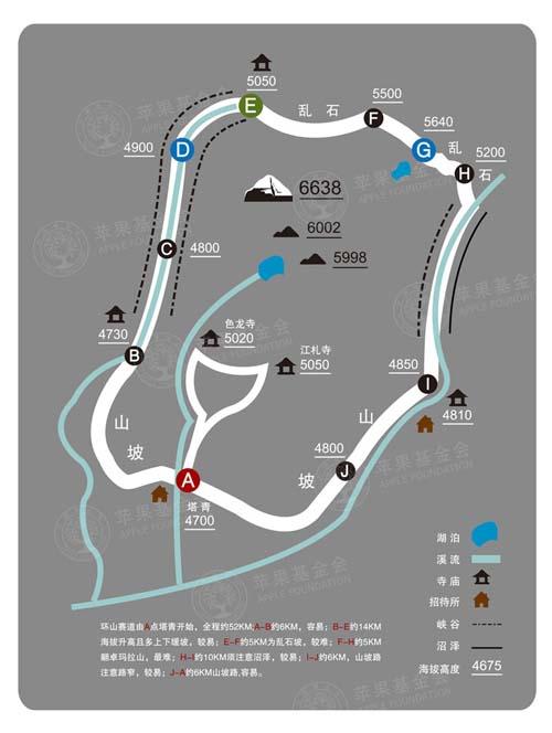 环山赛线路图