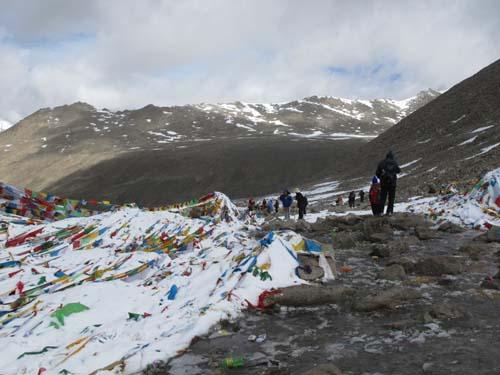 卓玛拉山口(5700m G点)