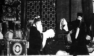 孟小冬1947年在上海义演《搜孤救孤》,被誉为广陵绝唱.
