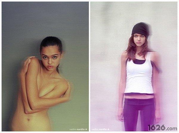 nardin创意人体摄影集组图