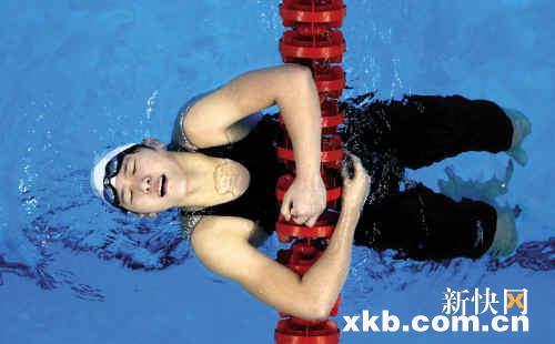 游泳世锦赛中国首金