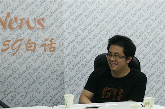 小米副总裁黎万强在5G白话现场